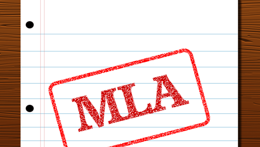 how to use mla style heading